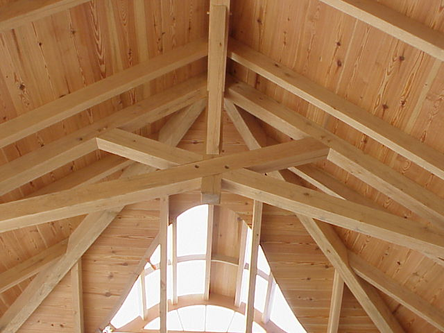 for Cathedral ceiling trusses